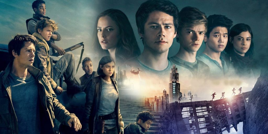 Maze Runner, a group of people