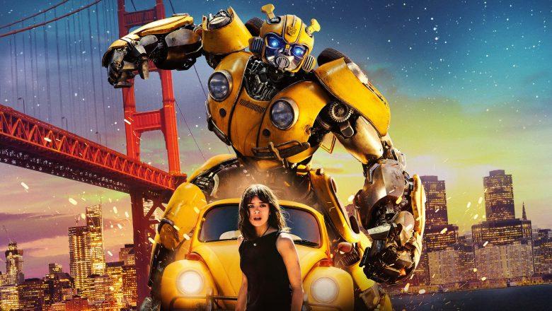Bumblebee, boy and robot