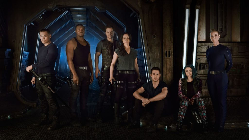 Dark Matter, a group of people