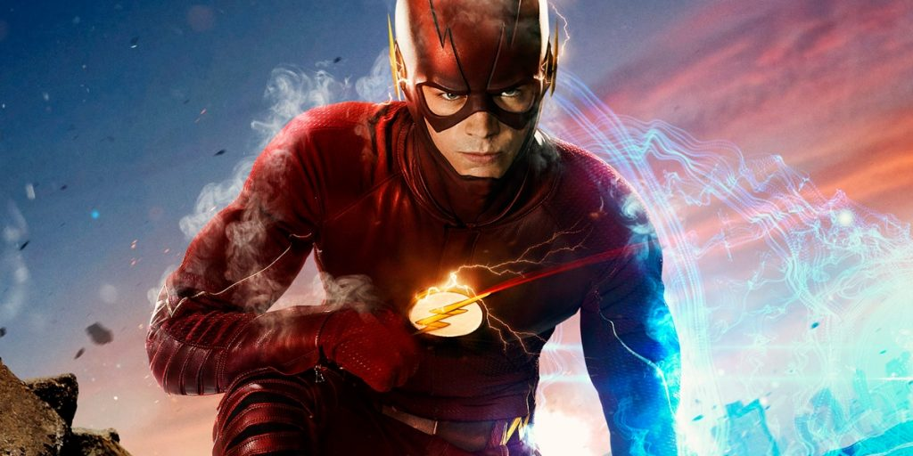 The Flash, man in costume