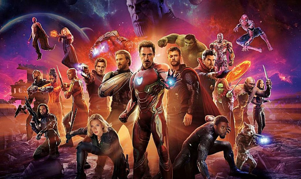 Infinity War, a group of people