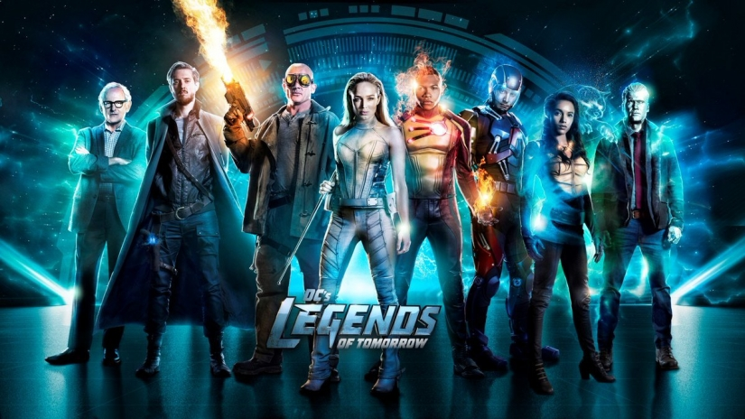 Legends of Tomorrow, a group of people in costumes