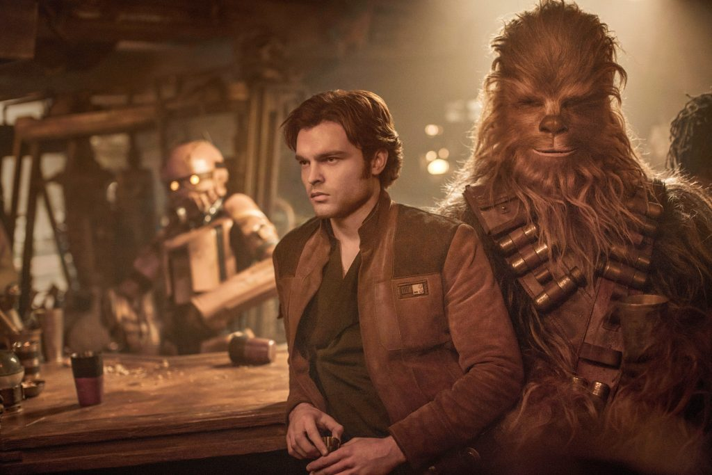 Solo, man and alien