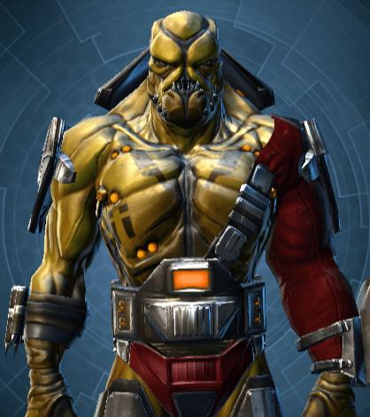 An alien warrior