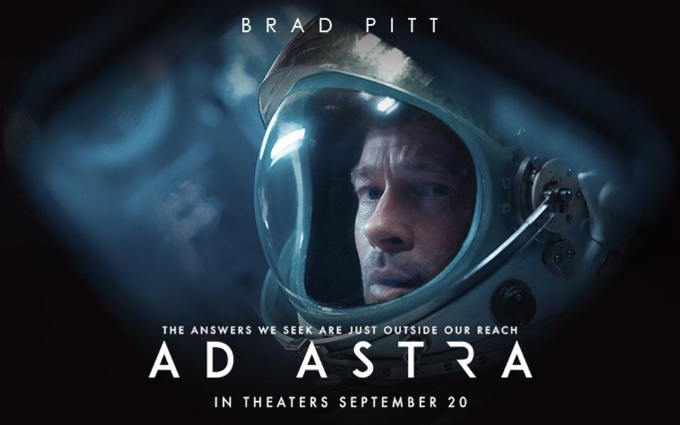Ad Astra, a man in a spacesuit
