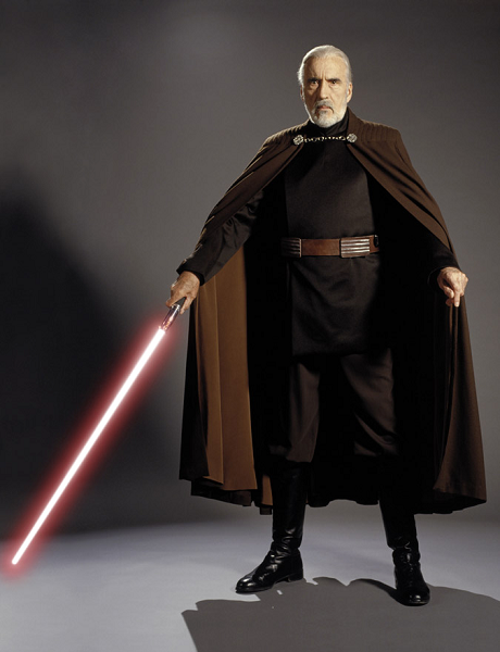top 10 sith, a man with a lightsaber