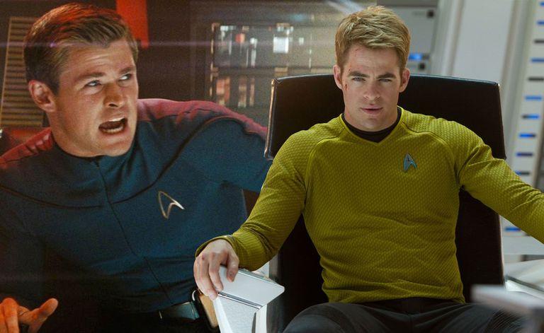 two men in star trek uniforms
