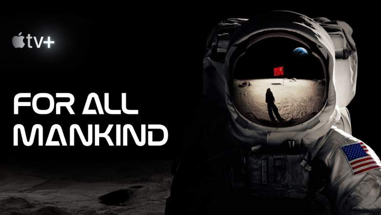 For All Mankind, a man in a spacesuit