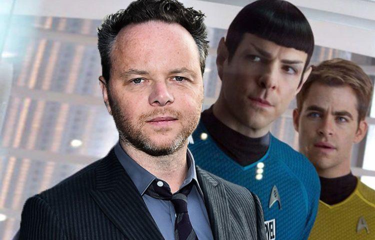 Star Trek Movie, three people