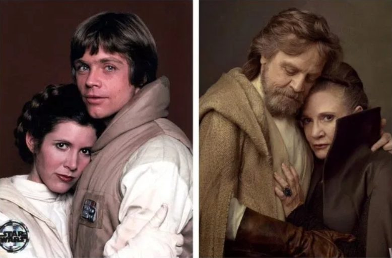 Mark Hamill, man and woman