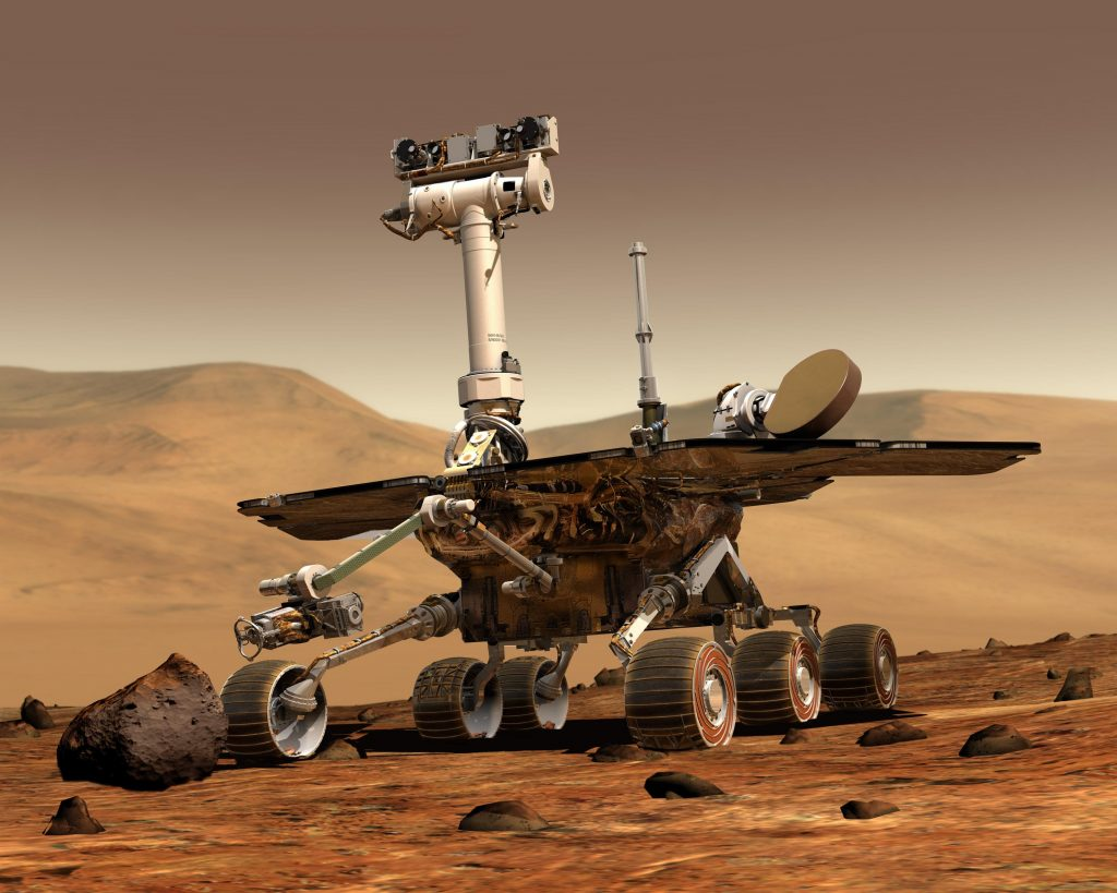 space exploration rover
