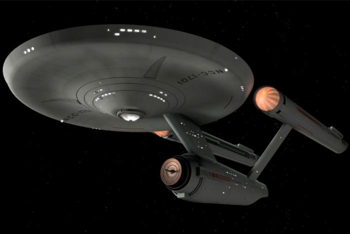 Star Trek ships USS Enterprise